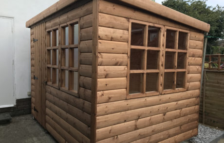 Kingston Cabins 21mm 34mm Apex Pent Shed Summerhouse Tongue And Grooved Log Lap Redwood Local Kingston Upon Hull Summerhouses Wood Timber Portacabin High Quality Custom Offices
